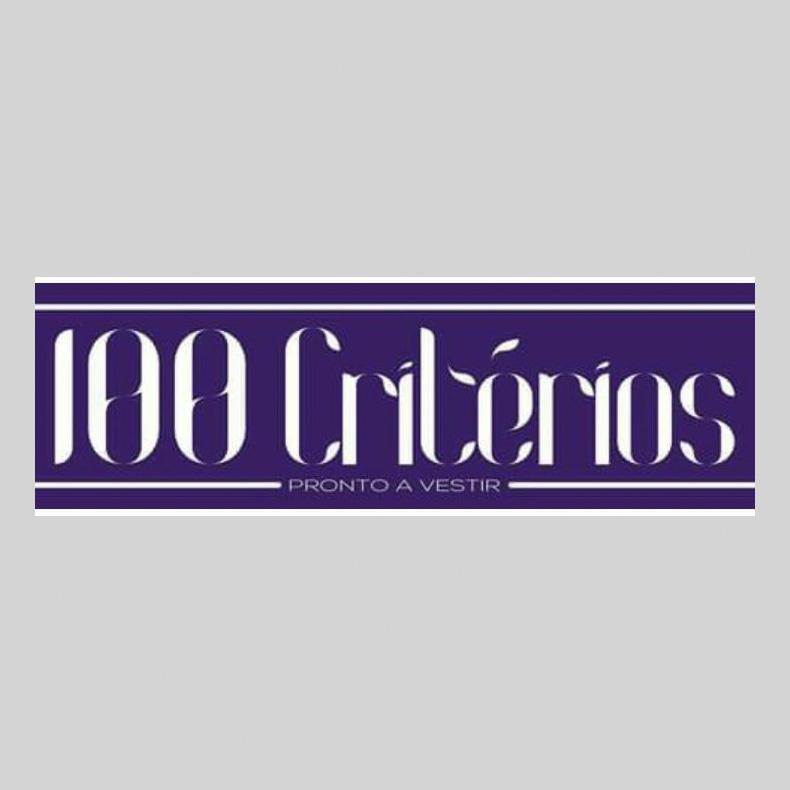 Logotipo 100 Critérios pronto-a-vestir