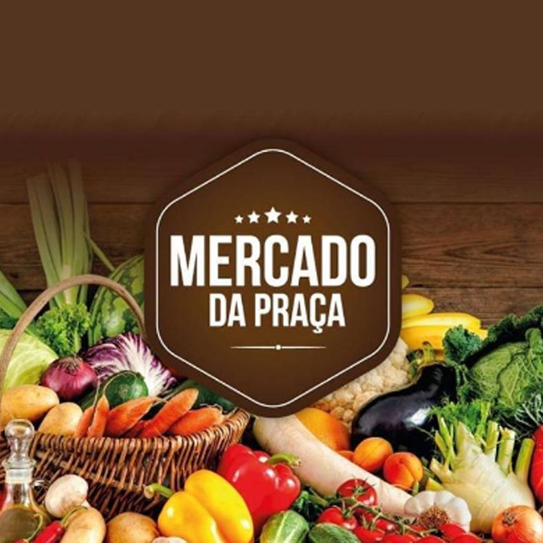 Logotipo do supermercado Mercado da Praça