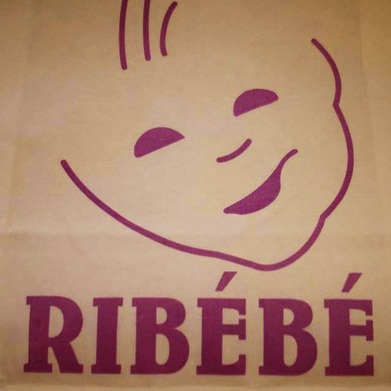 logotipo Ribébé pronto-a-vestir criança