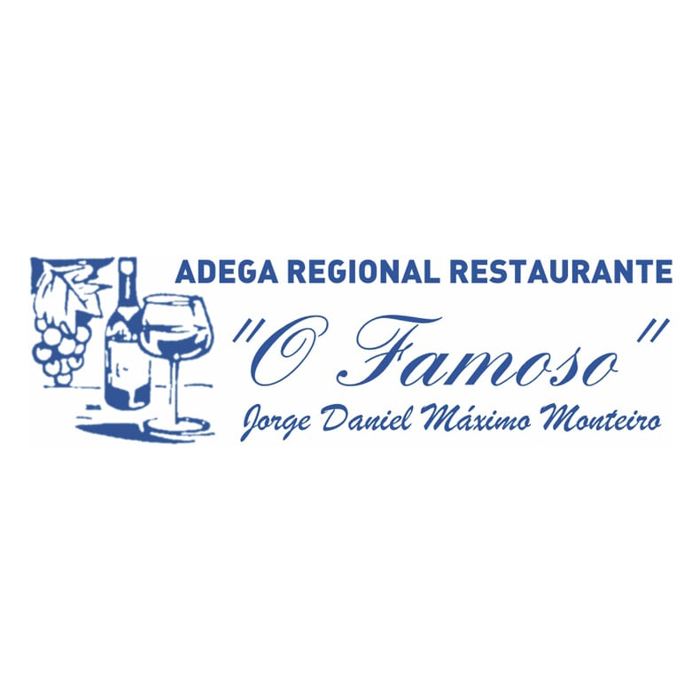 logotipo do restaurante adega O Famoso