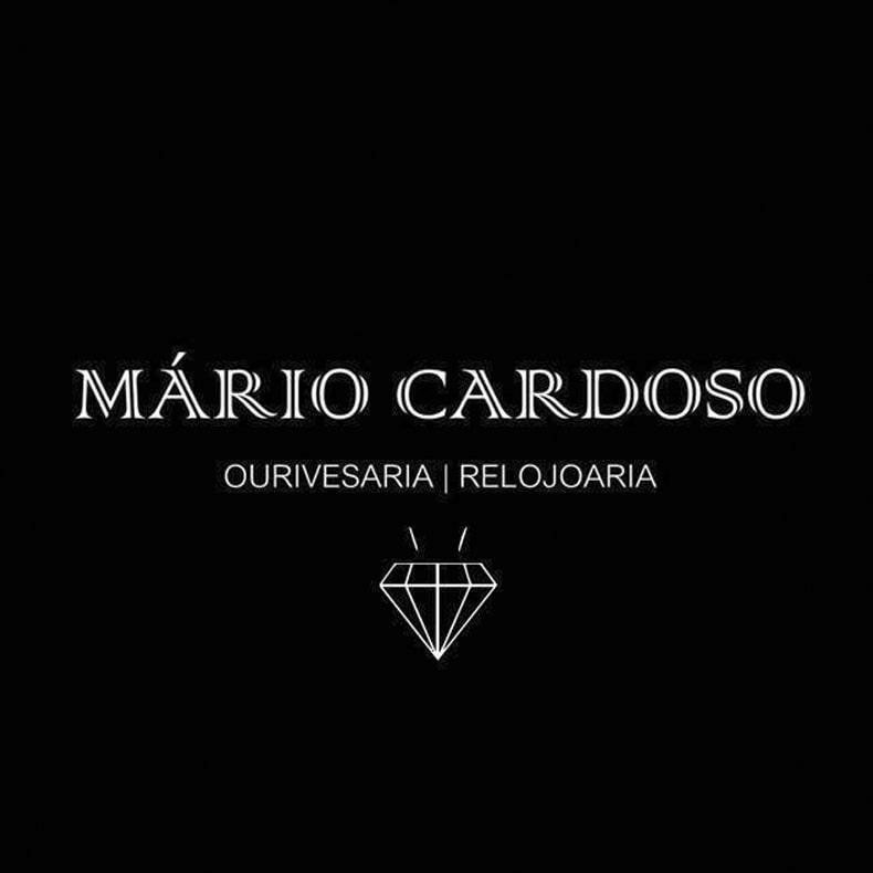 logotipo da ourivesaria e relojoaria Mário Cardoso