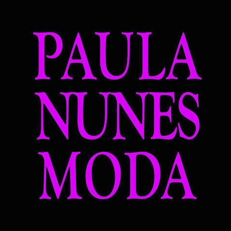Logotipo Paula Nunes Moda, venda ambulante de vestuário feminino